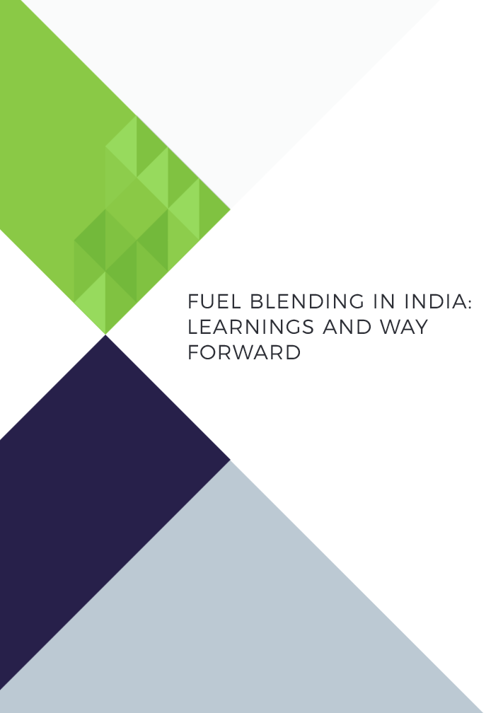 Fuel Blending in India: Learnings and Way Forward