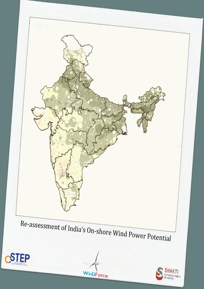 Re-assessment of India's On-shore Wind Power Potential
