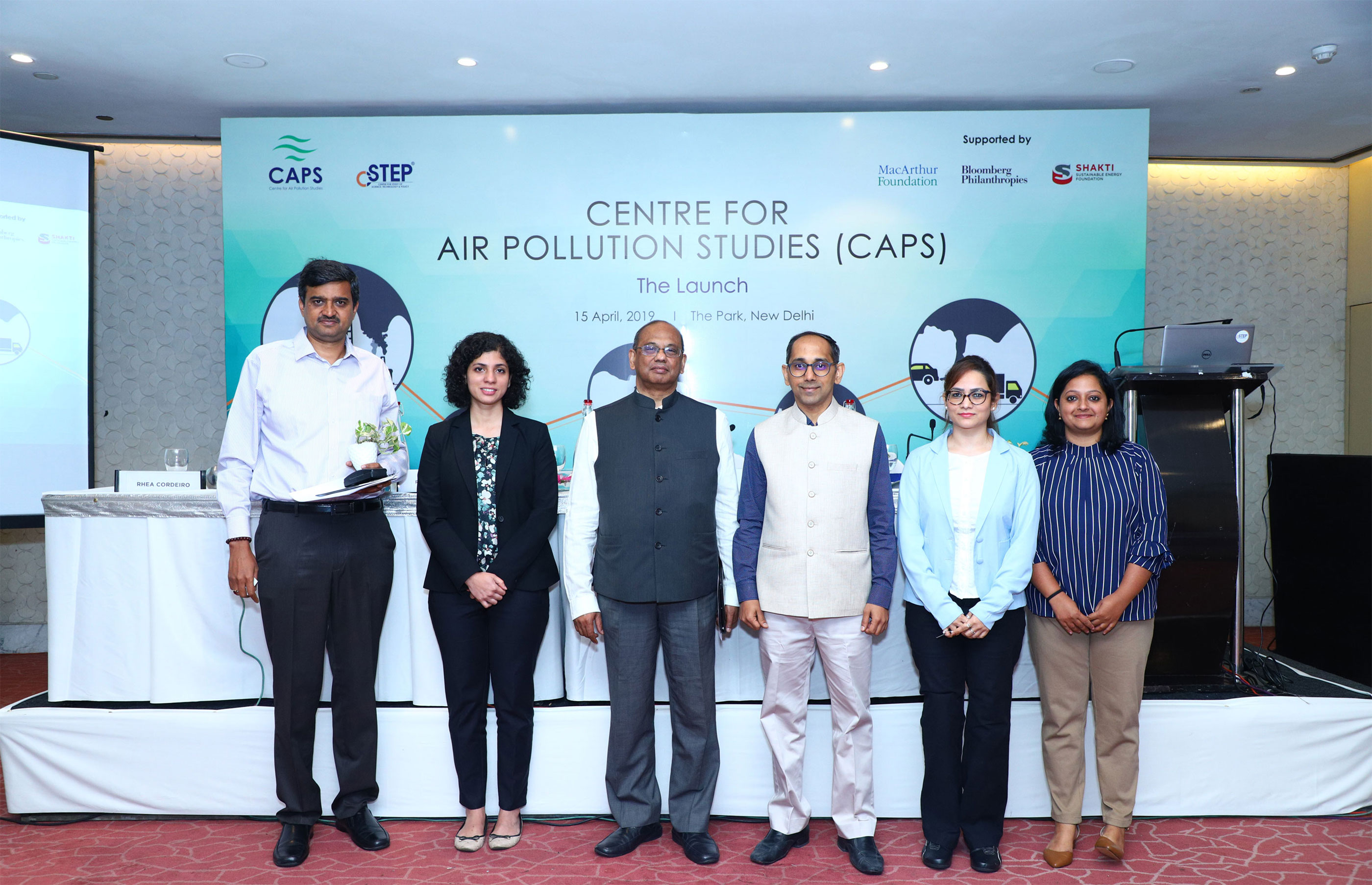 Launch Event of Centre for Air Pollution Studies (CAPS)