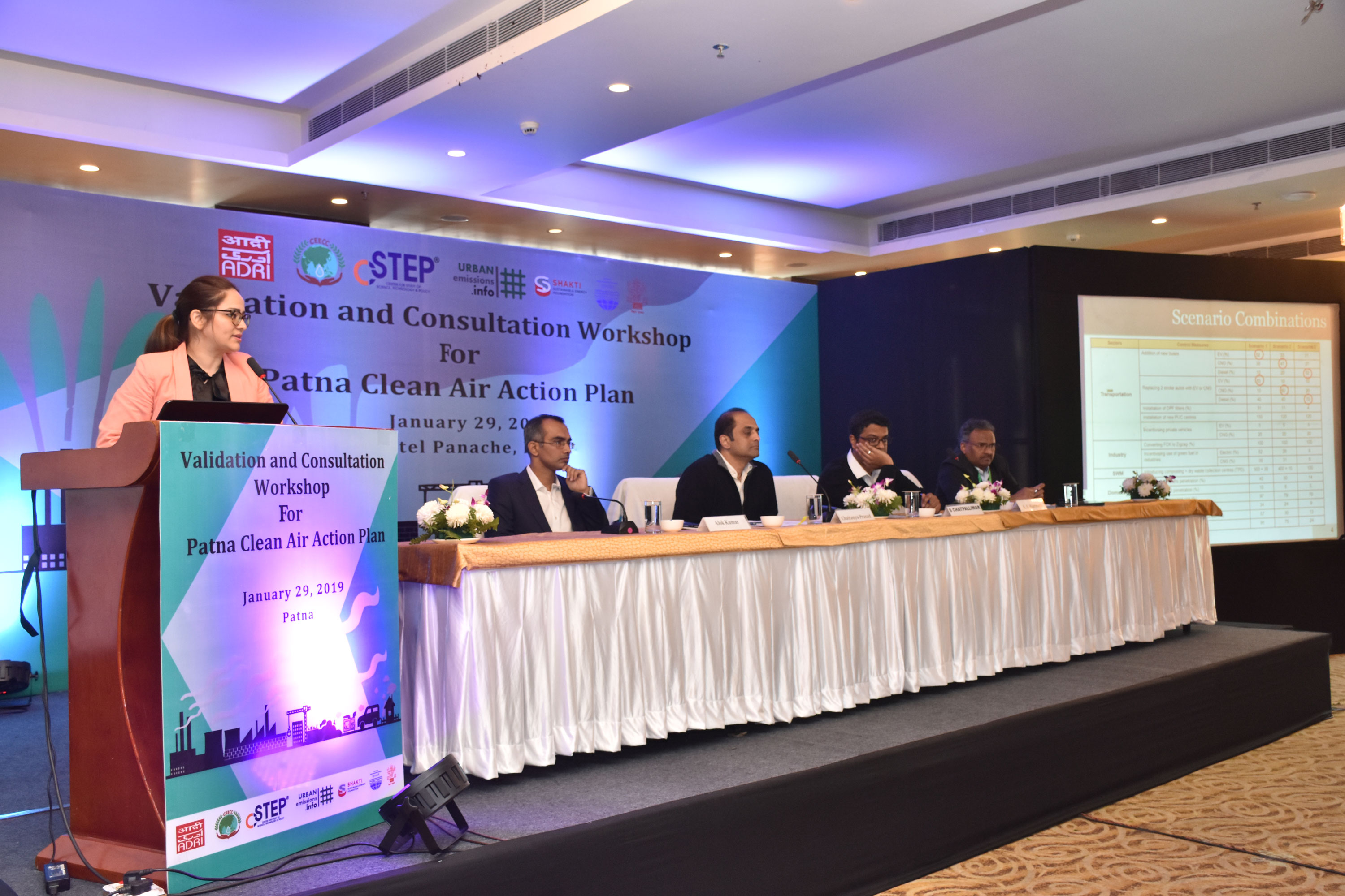 Validation and Consultation Workshop for Patna Clean Air Action Plan (PCAAP)
