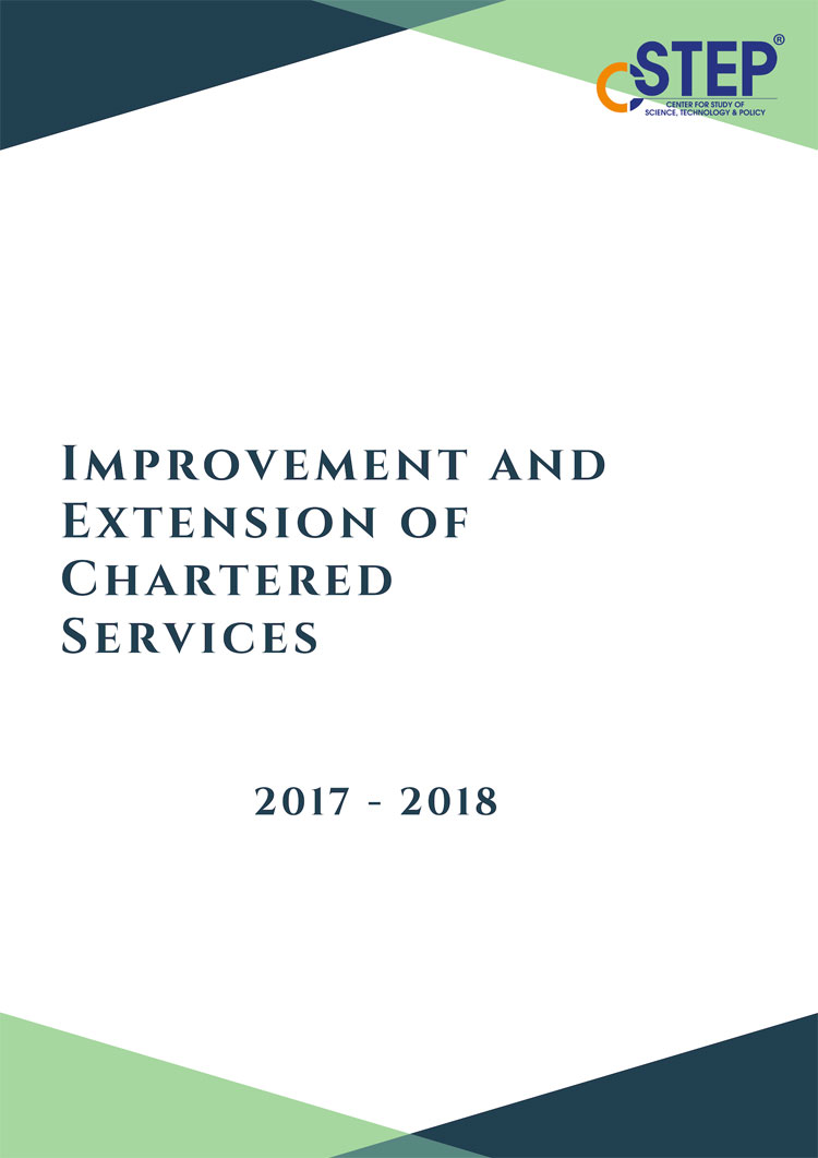 Improvement and Extension of Chartered Services