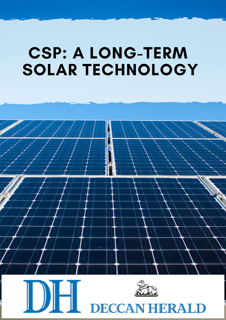CSP: a long-term solar technology