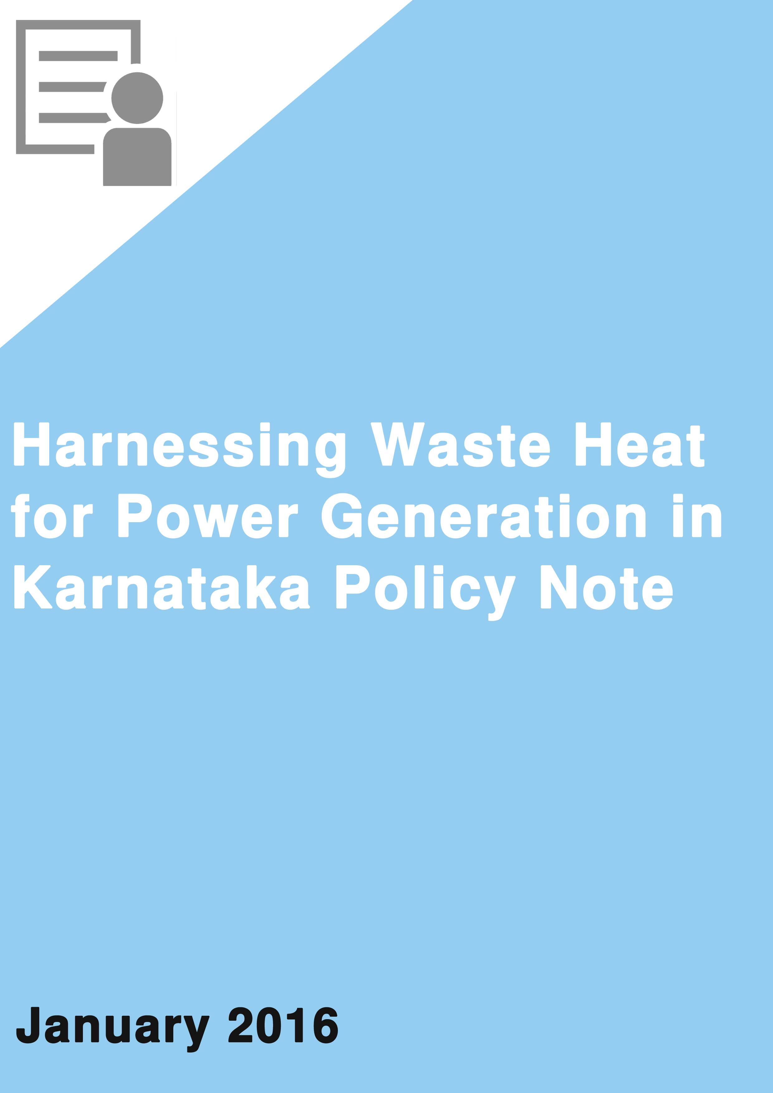 Harnessing Waste Heat for Power Generation in Karnataka