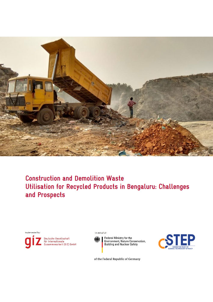 Construction and Demolition Waste Utilisation for Recycled Products in Bengaluru: Challenges and Prospects