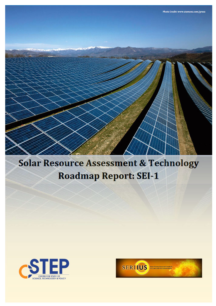 Solar Resource Assessment & Technology Roadmap Report : SEI-1