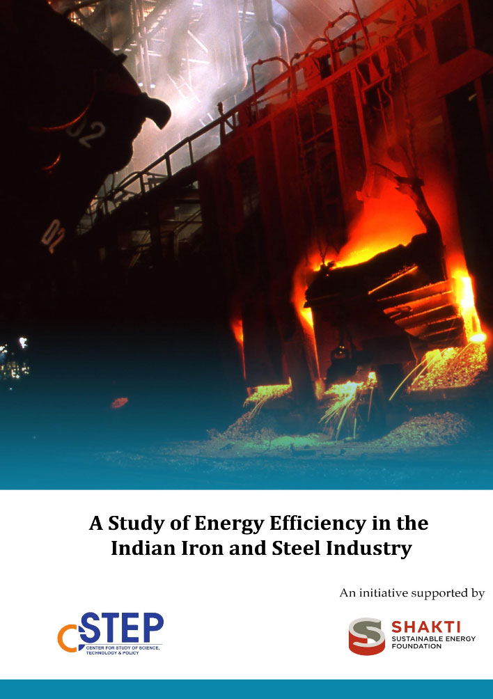A Study of Energy Efficiency in the Indian Iron and Steel Industry