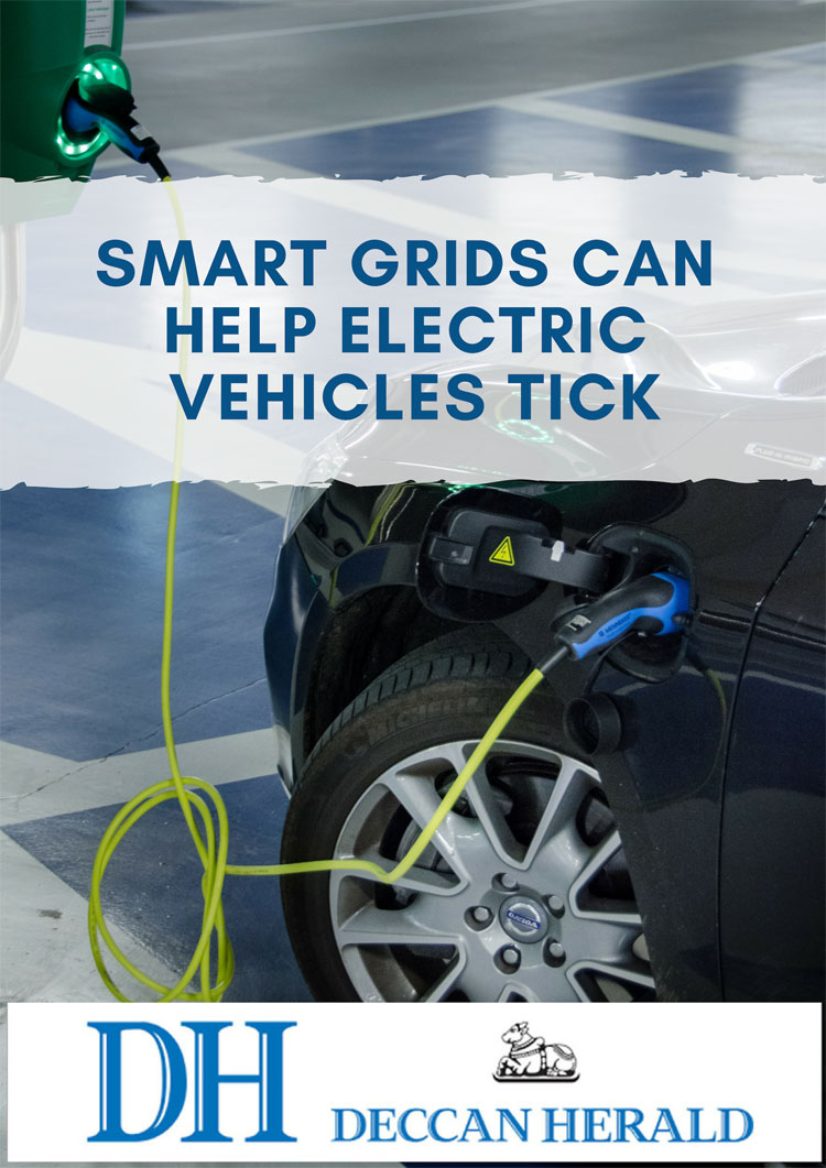 Smart grid can help electric vehicles tick