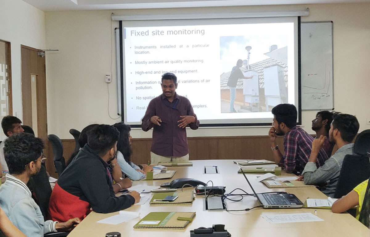 Two-day hands-on training workshop on air pollution and instrumentation