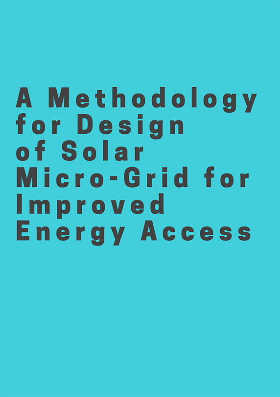 A Methodology for Design of Solar Micro-Grid for Improved Energy Access
