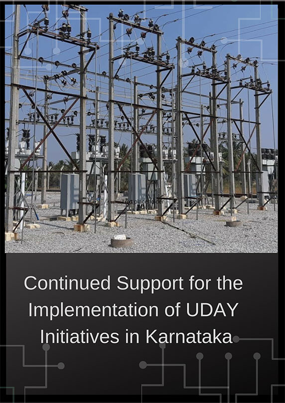 Continued Support for the Implementation of UDAY Initiatives in Karnataka