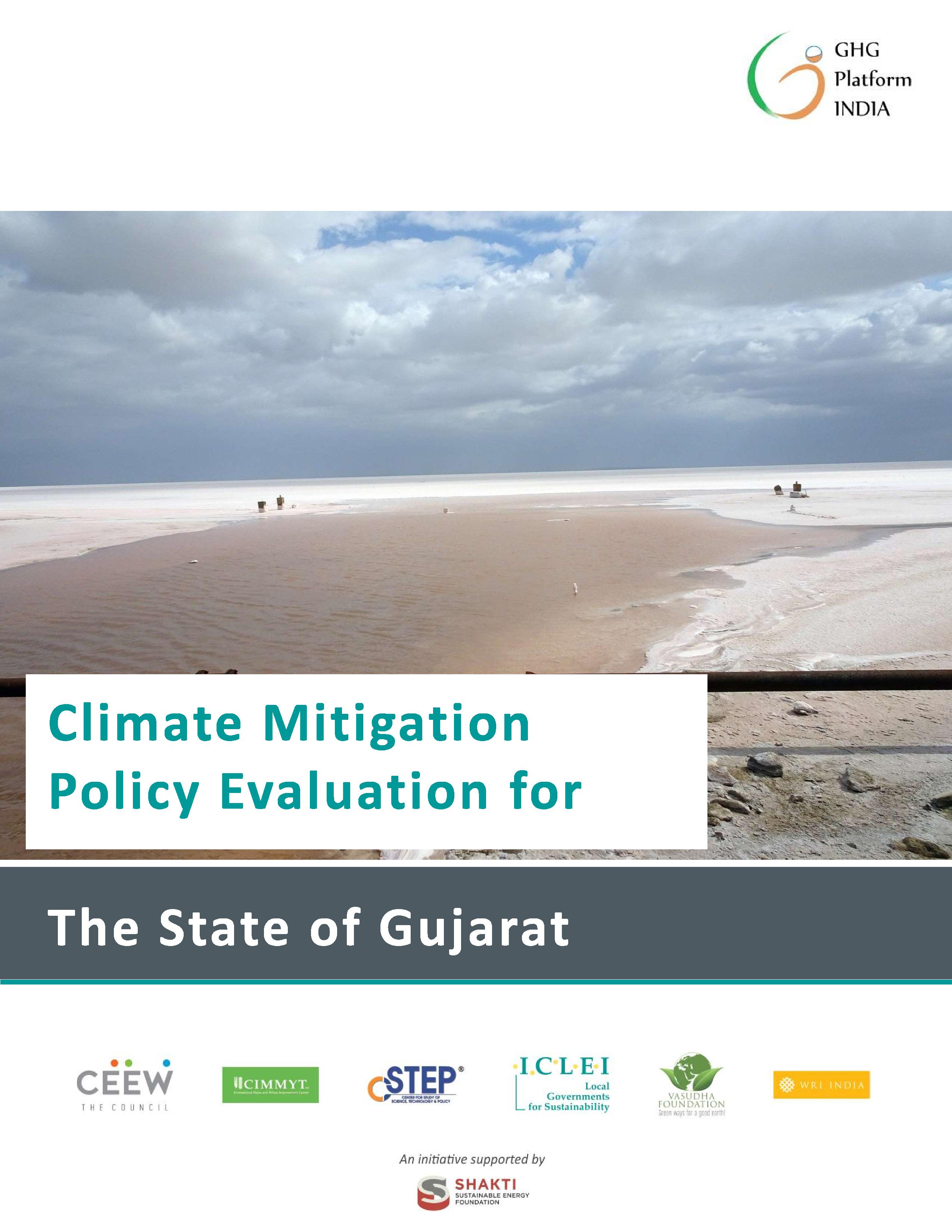 Climate Mitigation Policy Evaluation for the State of Gujarat - June 2020